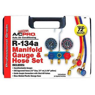 Interdynamics Professional Manifold Gauge & Hose Set 429