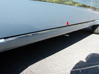 2008 2011 Ford Focus Chrome Rocker Panels & Side Molding   ProZ TH48345   ProZ Rocker Panel Trim