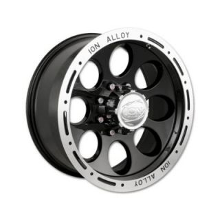 ION Alloy Wheels Style 174 Black Wheels
