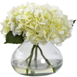 Nearly Natural Large Blooming Hydrangea with Vase 1357 CR