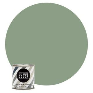 Jeff Lewis Color 8 oz. #JLC510 Dirty Martini No Gloss Ultra Low VOC Interior Paint Sample 108510