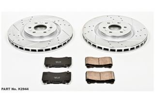 2004 2007 Cadillac CTS Performance Brake Kits   Power Stop K2944   Power Stop Z23 Brake Kit