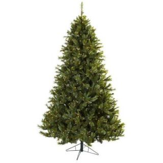 Nearly Natural 7.5 ft. Majestic Multi Pine Artificial Christmas Tree with 650 Clear Lights 5375