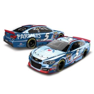 Lionel Racing 2014 Kasey Kahne #5 Farmers Regular Paint Color Chrome 124 Scale Die Cast