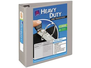"Avery 79403 Nonstick Heavy Duty EZD Reference View Binder, 3"" Capacity, Gray"