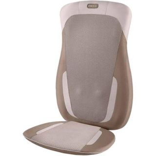 Homedics Shiatsu + Vibration Massage Cushion with Heat