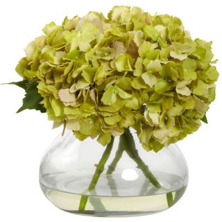 Large Blooming Hydrangea with Vase   16789730   Shopping