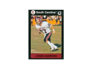 Autograph Warehouse 97049 Jones Andrews Football Card South Carolina 1991 Collegiate Collection No. 181