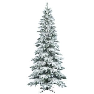 Vickerman 7.5 Unlit Flocked Utica Fir Tree   Seasonal   Christmas