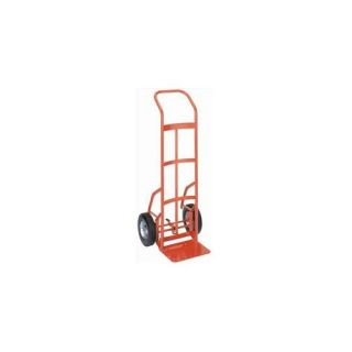 Wesco 210548 Touch and Tilt Hand Truck   10 inch Pneumatic Wheel