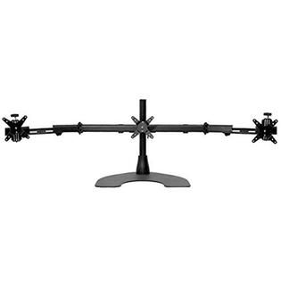 Ergotech Ergotech Triple LCD Monitor Desk Stand with Telescopic Wings