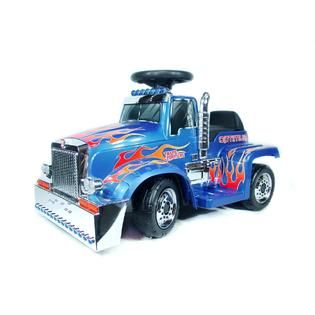 New Star Optimus Prime Truck   6 Volt Ride On   Toys & Games   Ride On