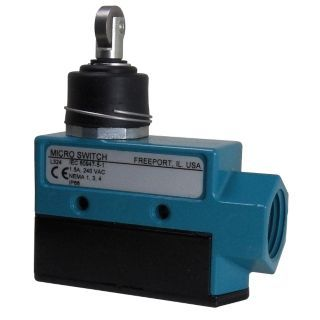 HONEYWELL MICRO SWITCH Enclosed Limit Switch, 600VAC/250VDC Voltage Rating, 15 Ind./2 Ind./0.5 Res./0.25 Res Amps   Limit / Interlock Switches   12U174|BZE6 2RN81