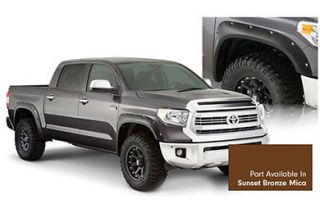 2014, 2015, 2016 Toyota Tundra Pocket Style Fender Flares   Bushwacker 30918 83   Bushwacker Color Match Pocket Style Fender Flares