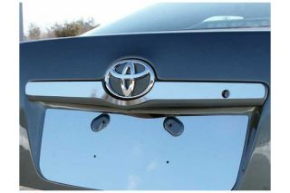 2007 2011 Toyota Camry Chrome Kits & Packages   ProZ LB27130   ProZ Chrome License Plate Trim