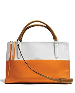 COACH The Borough Bag in Colorblock Boarskin Leather