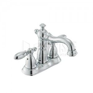 Delta 2555 216 Bathroom Faucet, Victorian Two Handle   Chrome