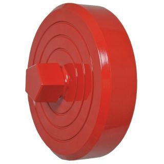 "MOON AMERICAN Fire Hydrant Cap, Caps Fittings Sub Category, NH Female Connection Type, Size 4 1/2""   Fire Hose and Hydrant Adapters   41H527