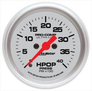 Auto Meter   Ultra Lite High Pressure Oil Pump Gauge