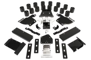 1987 1995 Jeep Wrangler Lift Kits   Performance Accessories PA932   Performance Accessories Body Lift Kit