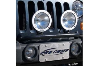 2007 2014 Jeep Wrangler Light Mounts & Wiring   Pro Comp 23700   Pro Comp Motorsports Light Bar