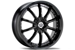 "Enkei LF 10 Wheels    on Enkei LF10 Black or Chrome Rims   18 & 20"" Rims"