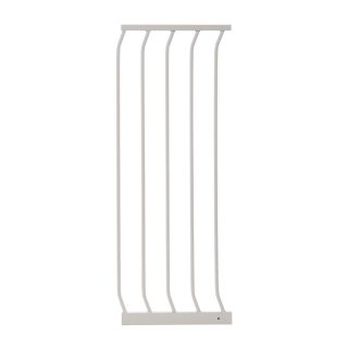 Dreambaby Chelsea Tall Auto Close 14 in x 39.5 in White Metal Child Safety Gate