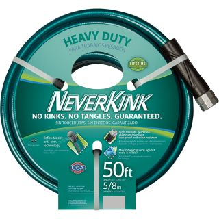 Apex NeverKink Heavy-Duty Garden Hose — 5/8in. x 50ft. Hose, Model# 8615-50  Garden, Sprinkler   Soaker Hoses