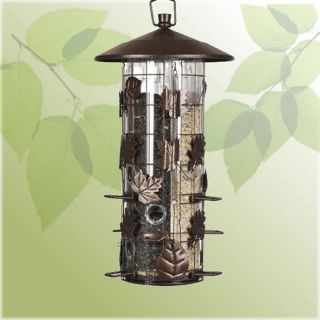 Perky Pet Squirrel Be Gone III Caged Bird Feeder