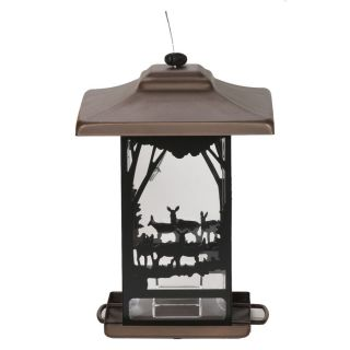 Perky Pet Lantern Metal Hopper Bird Feeder