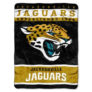 NFL 806 Jaguars 12th Man Raschel Throw   18965252