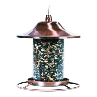 Perky Pet 2 Lbs. Copper Panorama Bird Feeder (312C)   Feeders & Houses