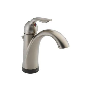 Delta Lahara Single handle Lavatory Faucet with Touch2O Xt Technology