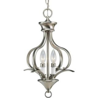 Progress Lighting Trinity Collection Polished Brass 2 light Chandelier DISCONTINUED P3806 10