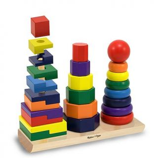 Melissa & Doug Geometric Stacker Set   6987377