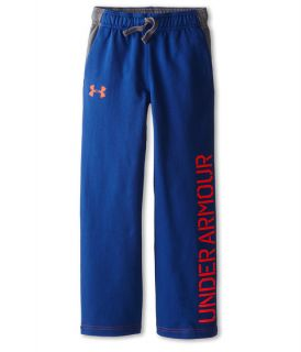 Under Armour Kids Ua Terry Pant Big Kids American Blue Bolt Orange, Under Armour