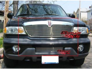 98 02 Lincoln Navigator Stainless Billet Grille Grill Combo Insert