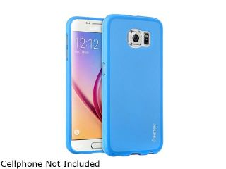 Insten Dark Blue Pudding TPU Rubber Candy Gel Case for Samsung Galaxy S6 2076369