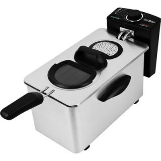 Chef Buddy 3.5 Liter Electric Deep Fryer