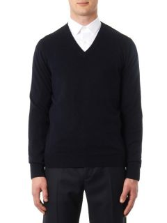 V neck cashmere knit sweater  Lanvin
