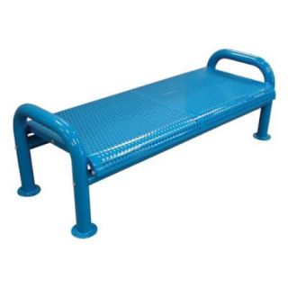 U Leg Perforated Bench (Yellow, Small)
