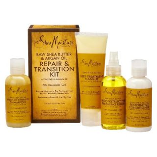 SheaMoisture Raw Shea Butter & Argan Oil Repair & Transition Kit