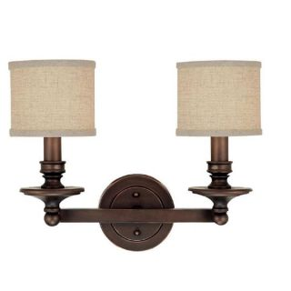 Capital Lighting Midtown Collection 2 light Burnished Bronze Bath