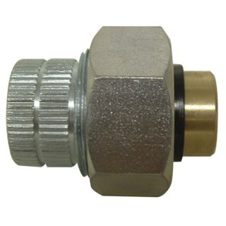 Watts 3/4 in x 1/2 in Dielectric Union Brass Pipe Fitting