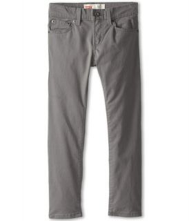 Levis® Kids 511™ Sueded Pants (Big Kids) Dark Gull Grey