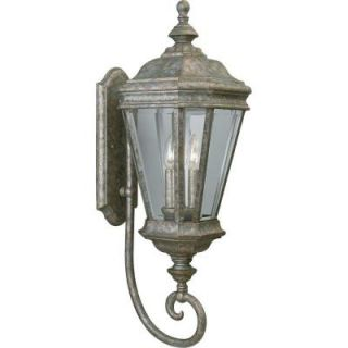 Progress Lighting Crawford Collection 3 Light Golden Baroque Wall Lantern P5672 50
