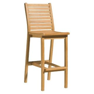 Oxford Garden Dartmoor Bar Chair   Natural Shorea