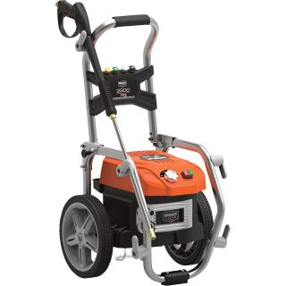 Mighty Clean Electric Cold Water Pressure Washer — 2200 PSI, 1.3 GPM, Model# MC2200BL  Electric Cold Water Pressure Washers