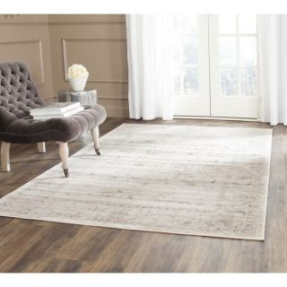 Safavieh Porcello Light Grey/ Ivory Rug (67 x 96)