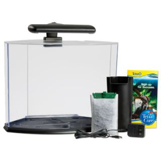 Tetra 5 Gallon Crescent Aquarium Kit